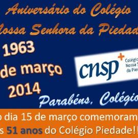 Comemoração 51 anos do colégio
