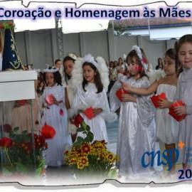 Coroação e Homenagem às Mães