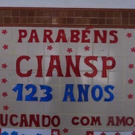 123 anos da CIANSP: Parabéns Congregação!!!!