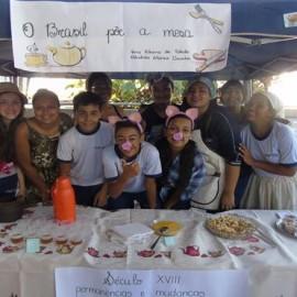 Projeto: O Brasil põe a mesa – nossa tradição alimentar