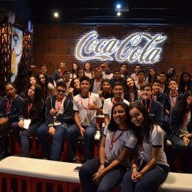 Conhecendo a Fábrica da Coca-Cola
