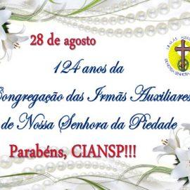 Comemoração pelos 124 anos da CIANSP