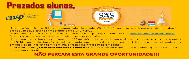 SAS-ENEM-ON-LINE