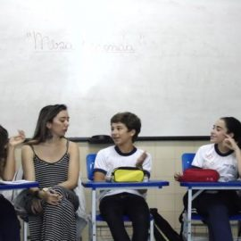 "Ensino Fundamental II – Projeto: "" Mesa Redonda"""