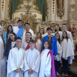 Celebração Eucarística – Páscoa do  Senhor – Alunos do turno da manhã