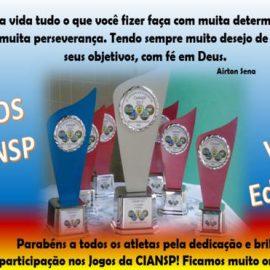 VI Edição dos Jogos CIANSP 2017