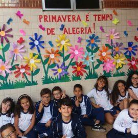 Mural da Primavera – retratando a mais bela e alegre estação do ano
