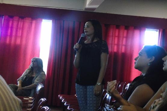 """Palestra: """"Educação de filhos: desafios para o desenvolvimento emocional das crianças"""" com aPsicóloga e ex-aluna Rafaela Ladeira"""