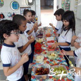 Semana da Alimentação Saudável: Texturas, cores, cheiros e sabores deliciosos para aguçar o paladar!
