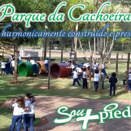 Parque da cachoeira: espaço harmonicamente construído e preservado
