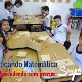 Praticando Matemática x Aprendendo com prazer
