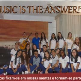 """MUSIC IS THE ANSWER!"""