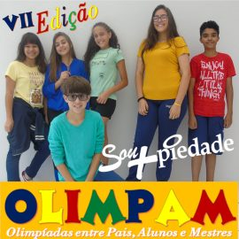 OLIMPAM – Olimpíadas entre pais, alunos e mestres. A festa da Família Piedade!