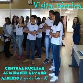 Visita técnica: Central Nuclear Almirante Álvaro Alberto – Angra dos Reis/RJ