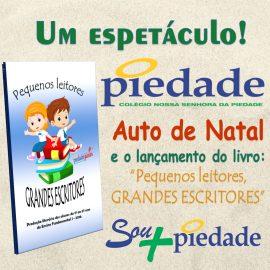 PLEPI Júnior – Auto de Natal, autógrafo de livros, exposição de trabalhos e releitura de obras consagradas