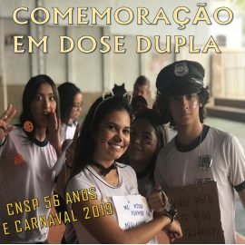 Comemoração em dose dupla: 56 anos do Colégio Piedade e Comemoração do Carnaval 2019