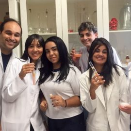 Jovens cientistas
