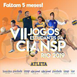 Estudantes cariocas convidam colegas para os Jogos Estudantis da CIANSP