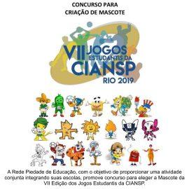 Concurso para eleger a Mascote da VII Edição dos Jogos Estudantis da CIANSP –  RIO/2019