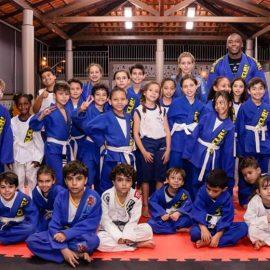 Surpresa em dose dupla na aula de Jui Jitsu!