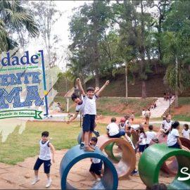 Visita ao Parque ecológico da Cachoeira