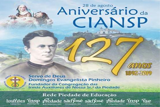 Comunidades em festa! Congregação comemora 127 anos de fundação!