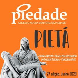 Com riquíssimo conteúdo, a segunda edição do Jornal Pietá está imperdível!