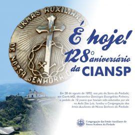 Homenagem pelos 128 anos da CIANSP