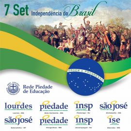 Pátria amada Brasil – 198 anos