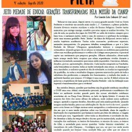 Confira a quarta edição do Jornal Pietá, com pauta comemorativa em homenagem ao aniversário da CIANSP