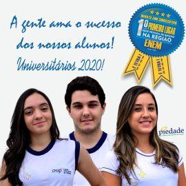 A gente ama o sucesso dos nossos alunos!