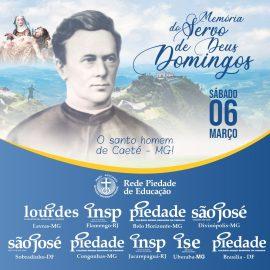 06 de Março: Dia de celebrarmos a memória do Servo de Deus Domingos Evangelista Pinheiro