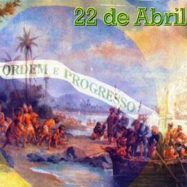 22 de Abril: Chegada dos Portugueses ao Brasil