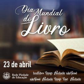 23 de Abril: Dia do Livro