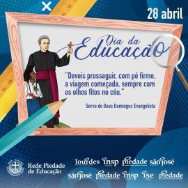 28 de abril: Dia da Educação