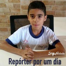 Noticiando em: Repórter por um dia