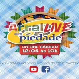 Nosso Arrai-Live foi um sucesso!!!