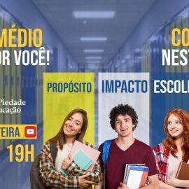 O NOVO ENSINO MÉDIO ESPERA POR VOCÊ!
