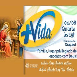 É NA PRÓXIMA QUARTA-FEIRA, 4/8, às 19h!