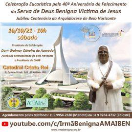 Convite especial: Celebração Eucarística